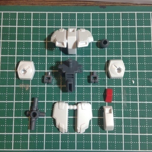 HGUC クロスボーンガンダムX1 製作