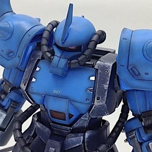 HGUC プロトタイプグフ 戦術実証機 改造/改修【初心者がヤフオクで売るためのガンプラ製作 完成品】