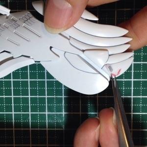 リアルスティックデカールの貼り方 【ヤフオクで売るガンプラ製作テクニック】