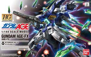 HG ガンダムAGE-FX 製作